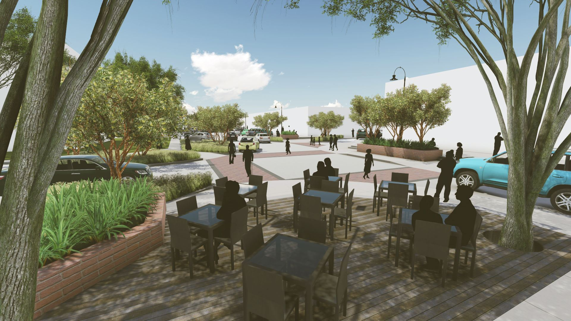 Downtown Streetscape Project | Kaufman, TX